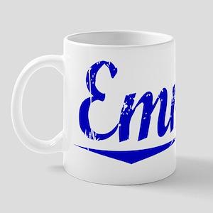 Emmett, Blue, Aged Mug