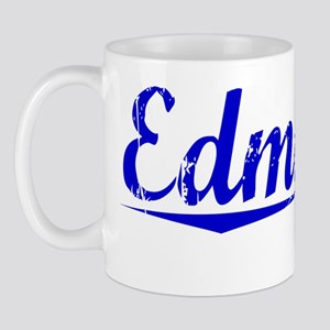 Edmonds, Blue, Aged Mug
