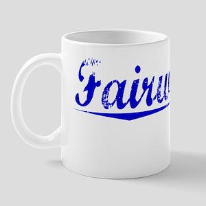 Fairweather, Blue, Aged Mug