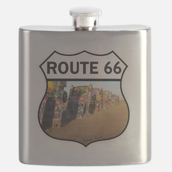 Route 66 - Cadillac Ranch Flask