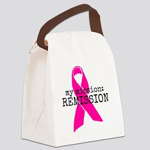 My mission: REMISSION Canvas Lunch Bag