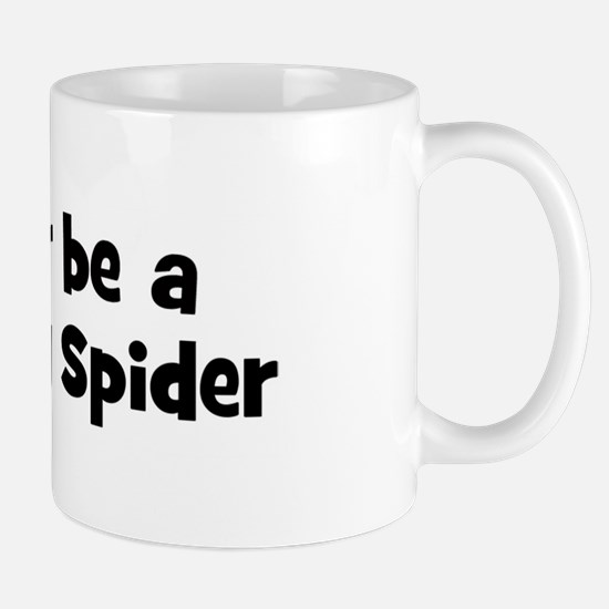 Rather be a Bird Eating Spide Mug