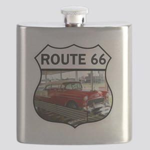 Route 66 Museum - Clinton, OK Flask