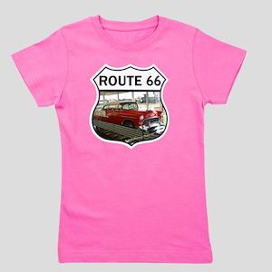 Route 66 Museum - Clinton, OK Girl's Tee