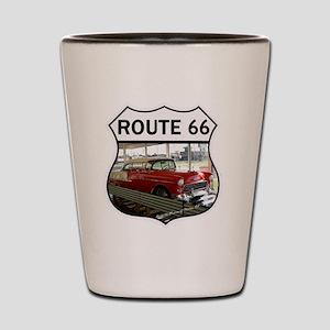 Route 66 Museum - Clinton, OK Shot Glass