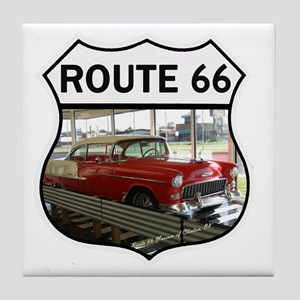 Route 66 Museum - Clinton, OK Tile Coaster