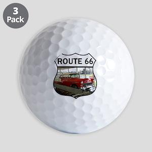 Route 66 Museum - Clinton, OK Golf Balls