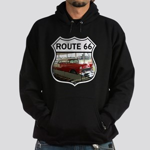 Route 66 Museum - Clinton, OK Hoodie (dark)