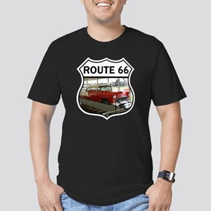 Route 66 Museum - Clin Men's Fitted T-Shirt (dark)