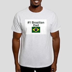 #1 Brazilian Dad Light T-Shirt