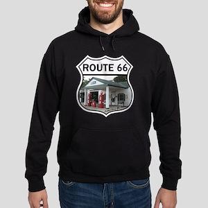 Route 66 - Amblers Texaco Gas Statio Hoodie (dark)