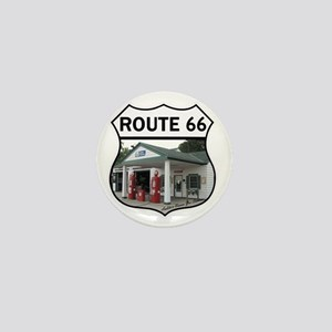 Route 66 - Amblers Texaco Gas Station  Mini Button