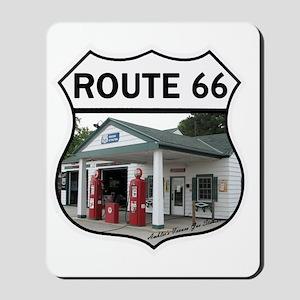 Route 66 - Amblers Texaco Gas Station -  Mousepad