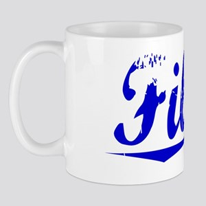 Filson, Blue, Aged Mug