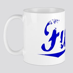 Funke, Blue, Aged Mug