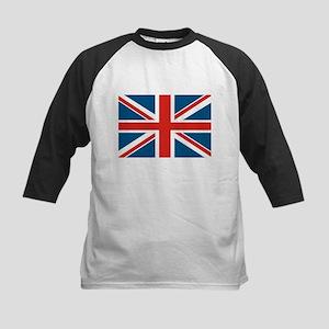 British Flag Kids Baseball Jersey