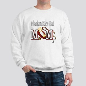 alaskan klee kai mom darks Sweatshirt