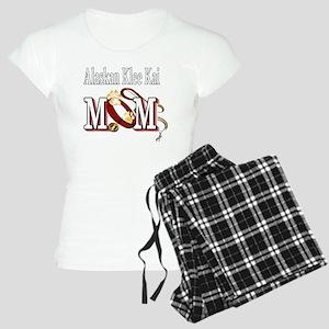 alaskan klee kai mom darks Women's Light Pajamas