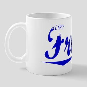 Frisch, Blue, Aged Mug