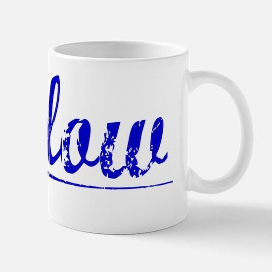 Furlow, Blue, Aged Mug