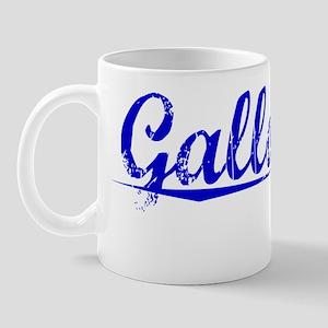 Galloway, Blue, Aged Mug