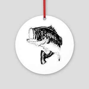 Fishing - Fish Ornament (Round)