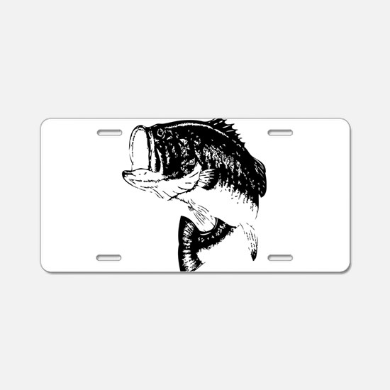 Fishing - Fish Aluminum License Plate