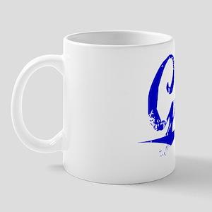Ganz, Blue, Aged Mug