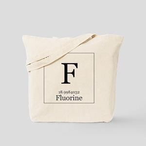 Elements - 9 Fluorine Tote Bag