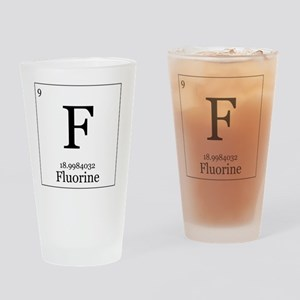 Elements - 9 Fluorine Drinking Glass