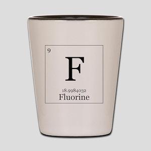 Elements - 9 Fluorine Shot Glass