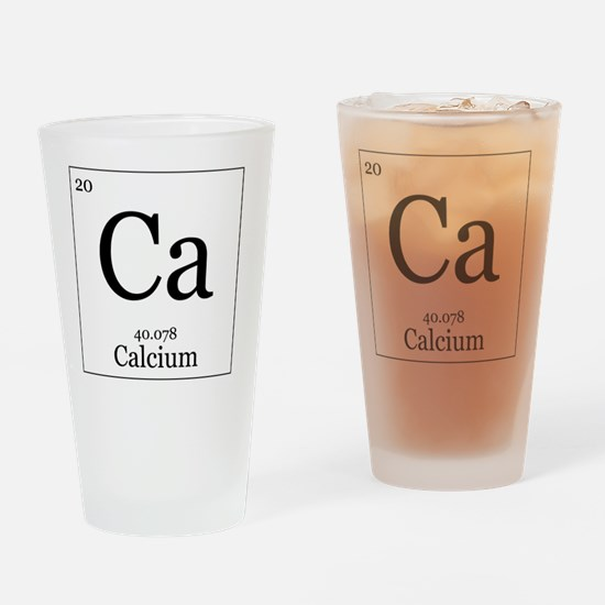 Elements - 20 Calcium Drinking Glass