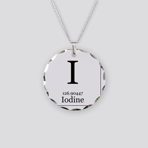 Elements - 53 Iodine Necklace Circle Charm