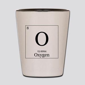 Elements - 8 Oxygen Shot Glass