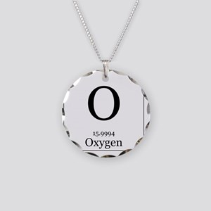 Periodic table elements jewelry cafepress elements 8 oxygen necklace circle charm urtaz Image collections