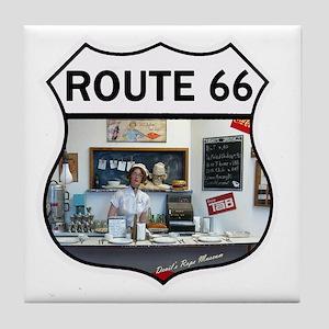 Route 66 - Devils Rope Museum - Texas Tile Coaster