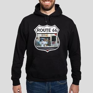 Route 66 - Devils Rope Museum - Texa Hoodie (dark)