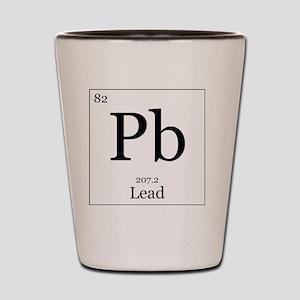 Elements - 82 Lead Shot Glass