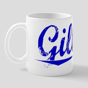 Gillian, Blue, Aged Mug