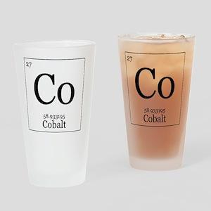 Elements - 27 Cobalt Drinking Glass