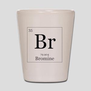 Elements - 35 Bromine Shot Glass