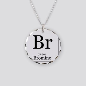 Elements - 35 Bromine Necklace Circle Charm
