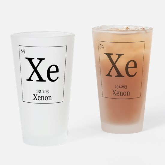 Elements - 54 Xenon Drinking Glass