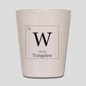 Elements - 74 Tungsten Shot Glass