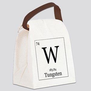 Elements - 74 Tungsten Canvas Lunch Bag