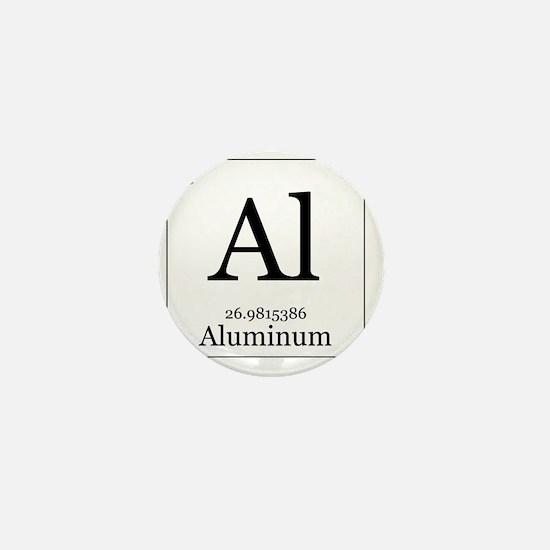 Elements - 13 Aluminum Mini Button