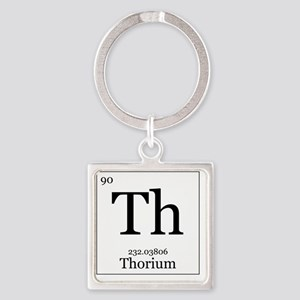 Elements - 90 Thorium Square Keychain