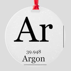 Elements - 18 Argon Round Ornament