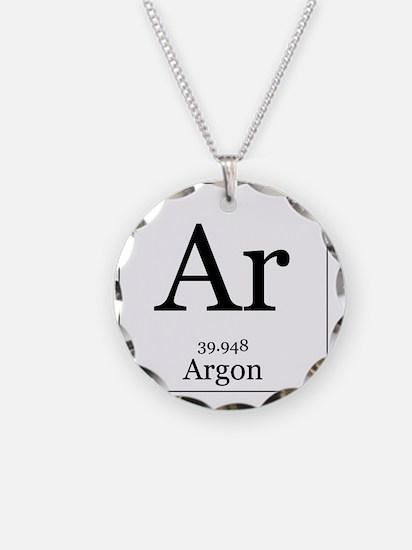 Elements - 18 Argon Necklace