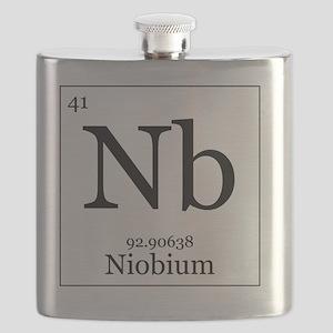 Elements - 41 Niobium Flask